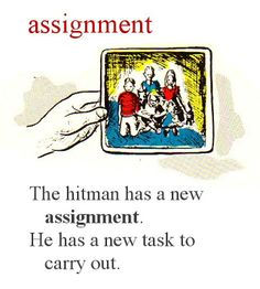 Assignment dictionary