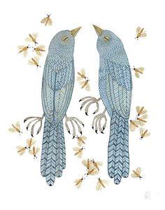 the landscape listens    bluebird specimens and a swarm of luminous flies.