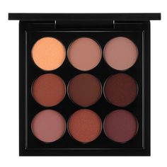 M·A·C Burgundy Times Nine Eyeshadow Palette 53 Value) ($40) ❤ liked on Polyvore featuring beauty products, makeup, eye makeup, eyeshadow, beauty, eyes, filler, matte eye makeup, palette eyeshadow and mac cosmetics eyeshadow