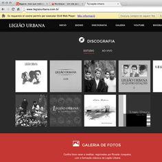 Legião Urbana ganha novo site - http://bagarai.com.br/legiao-urbana-ganha-novo-site.html