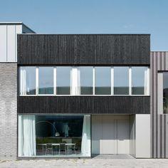 Leuchtende Niederlande - Stadthaus in Leiden von pasel künzel
