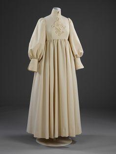 Wedding dress 1969 | Muir, Jean | V