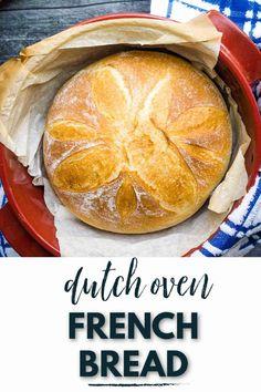 Dutch Oven Bread, Dutch Oven Recipes, Easy Bread Recipes, Real Food Recipes, Baking Recipes, Yummy Food, Vegan Recipes, Easiest Bread Recipe Ever, Best Bread Recipe