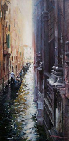 Jian Wu: Venice Reflection