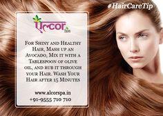 #AlcorSpa Easy method to grow your hair! #HairCareTip #Longandshinyhair
