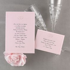icanhappy.com pink wedding invitations (16) #weddinginvitations