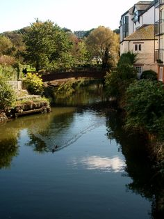 Truro Riverside by Chris_I The river Allen as leaves the city after passing under New Bridge street. It shortly merges with the river Kenwyn to become the Truro river, Cornwall Truro, British Isles, Family History, Cornwall, Virginia, Bridge, Leaves, River, Street