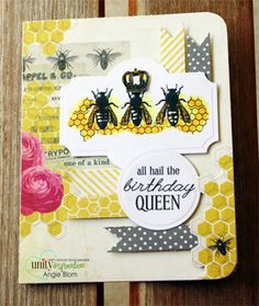 All Hail the QUEEN Bee - Unity Stamp Co