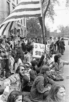 Vietnam Protests By George Pappas On Vietnam Vietnam War Flower