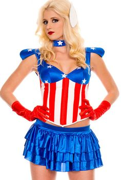 Fancy American Dream Costume