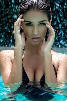 Ashley Sky makes the perfect real life Aspen Matthews from Aspen Comics and Fathom