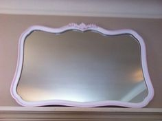 Large Vintage French Provincial Mirror. $125.00, via Etsy.