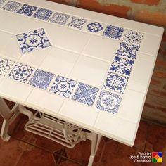 Mosaico estilo português