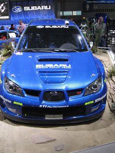 subaru_impreza_sti 2007_rally car