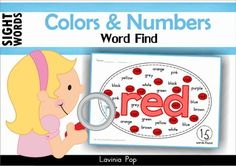 Sight Words Word Find (Colors & Numbers)** Great news! ** ::::: Save SUPER BIG and with the Sight Words SUPER BUNDLE! :::::About this book:This book contains a collection of colours and number words word find pages intended for use with children in Preschool, Kindergarten (Prep) and Grade 1.