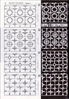 Crochet Stitch - Chart ❥ 4U // hf                                                                                                                                                      More
