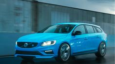 The Bluegasmic 350 HP Volvo V60 Polestar Wagon Is Coming To America.  Let me see this in white.