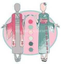 ...Atlantica Siren... Kimono Adopt // CLOSED by Seelenbasar on DeviantArt