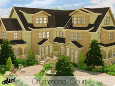 The Sims Resource: Drummond Court by Jaws3 • Sims 4 Downloads