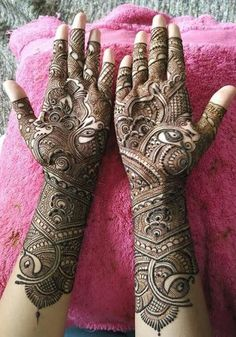 Best 11 Mehndi henna designs are always searchable by Pakistani women and girls. Women, girls and also kids apply henna on – SkillOfKing. Dulhan Mehndi Designs, Mehandi Designs, Rajasthani Mehndi Designs, Mehndi Designs Finger, Henna Hand Designs, Latest Bridal Mehndi Designs, Full Hand Mehndi Designs, Mehndi Designs 2018, Mehndi Designs For Girls