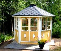Image detail for -Gazebos from Grillikota -Finnish BBQ huts and timber garden buildings;