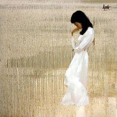 Nguyen Thanh Binh 1954 | Vietnamese Figurative painter | Tutt'Art@