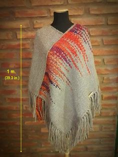 Twisted Shawls are mostly woven with a cotton warp and rayo Weaving Textiles, Weaving Art, Tapestry Weaving, Loom Weaving, Hand Weaving, Loom Knitting Patterns, Weaving Patterns, Knitting Tutorials, Stitch Patterns