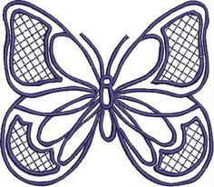 Blue Line Butterfly