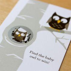 Owl Scratch Cards Game