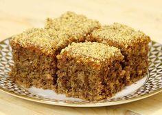 TRychlý koláč jehož přípravu zvládnete do 5 minut! Chuť ohromí každého!Rychlý koláč jehož přípravu zvládnete do 5 minut! Chuť ohromí – 11 lžící cukru krystal – 20 lžící hladké mouky – prášek do pečiva – 400 ml vody – 1 čajová lžička jedlé sody – 6 lžic mletých vlašských ořechů – 4 lžíce domácí marmelády vsetko zmiesat , piect = 30 min. na 200 stup. Baking Recipes, Cookie Recipes, Dessert Recipes, Lemon Meringue Cookies, Posne Torte, Torte Recipe, Kolaci I Torte, Czech Recipes, Coffee Cake