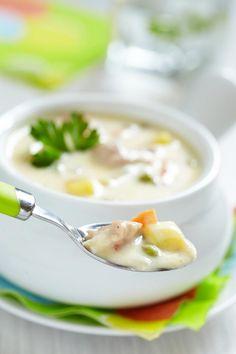 La recette idéale pour cuisiner un restant de dinde ! Crémeuse et délicieuse, vous allez l'adorer.