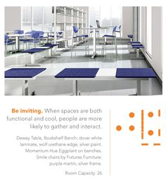 Dewey by Fixtures Furniture // #izzyplus #futureoflearning #edtech