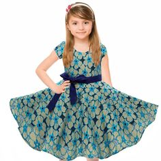 27.19$  Watch here - http://alio19.shopchina.info/1/go.php?t=32817032189 - 1950s Vintage Cotton Girls Floral Dress Princess Kids Dresses For Girls Clothes Summer 2017 Party Dresses Children Clothing  #magazineonlinewebsite