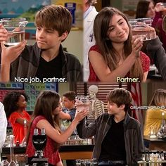 Girl Meets World (I think Riley and Farkle are getting chemistry lol)