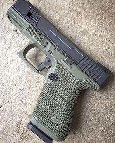 Glock Grip Stippling