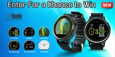 Hey Golf Fans. Start out 2017 with a chance to win the hottest new Golf GPS Watch! Enter the Great Golf Deals.com Giveaway contest for a chance to win this new 2017 Golf Buddy WTX Golf GPS Watch.