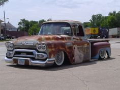 Old truck 1959 GMC 100