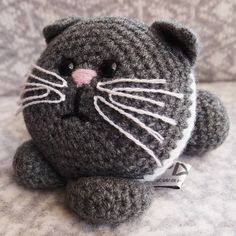Kitten Amigurumi Learn To Crochet Kit  by Warm Pixie