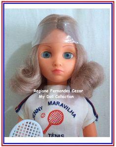 Boneca Jenny Maravilha Tenis, Atma, 1979 #muñeca #Clania #antiga #IbéricaComercial