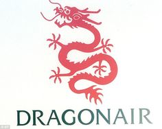 Muckspreading: A spokesman for Dragonair in Hong Kong denied claims by the couple and other passengers that cabin crew had suggested the boy might be carrying the deadly Ebola virus Dragonair, Airline Logo, Cathay Pacific, World 2020, Cargo Airlines, Aircraft Design, Travel Logo, Logo Sticker, China Travel
