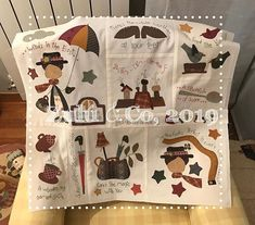 Anni Downs, Patch Quilt, Wool Applique, Learn To Sew, Merry, Textiles, Quilts, Sewing, Holiday Decor