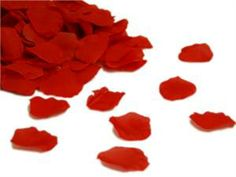 CHEAP PLACE TO BUY ROSE PETALS FOR DECORATION OR FOR PEOPLE TO TOSS  500 petals for $4.99