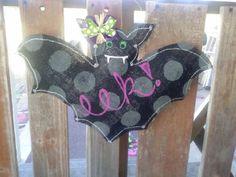 Halloween Bat Door Hanger by PrettyLilThings04