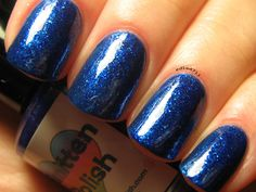 A Midnight Clear by SmittenPolish on Etsy, $9.00