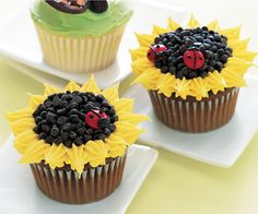 Decorative cupcakes are NOT just for kids.