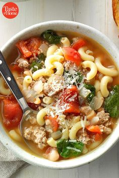 36 Winter Soups Ready in 30 Minutes – Soup Slow Cooker Recipes, Soup Recipes, Dinner Recipes, Cooking Recipes, Healthy Recipes, Salad Recipes, Recipies, Chili Soup, Winter Soups