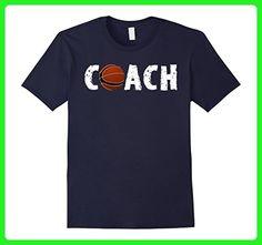 Mens Basketball Ball Coach Tee Shirt Soccer Birthday Gift Medium Navy - Sports shirts (*Amazon Partner-Link)