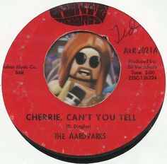 THE AARDVARKS CHERRIE CANT YOU TELL MICHIGAN GROUP GARAGE 45 RPM VINYL RECORD US $40.00