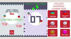 AppsFresh presents Don't Touch the Spikes source code Double Impact with an extra character added for exclusive, original and unique mechanics as well as increased difficulty unseen on the App Store yet. https://www.appsfresh.com/products/don-t-touch-the-spikes-source-code-double-impact