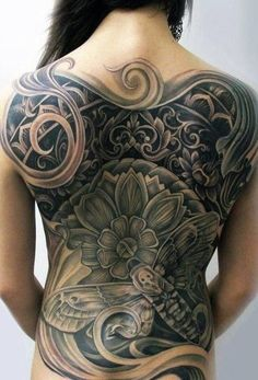 Back Attack! 21 of the BEST Back Tattoos www.tattoodlifestyle.com #tattoo #tattood #lifestyle #back #piece #ink #magazine #badass